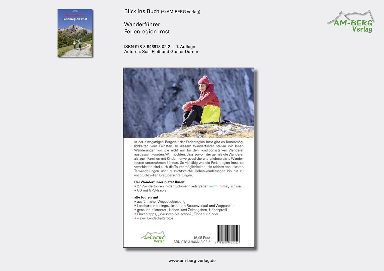 Wanderführer Ferienregion Imst_Rückseite Buch