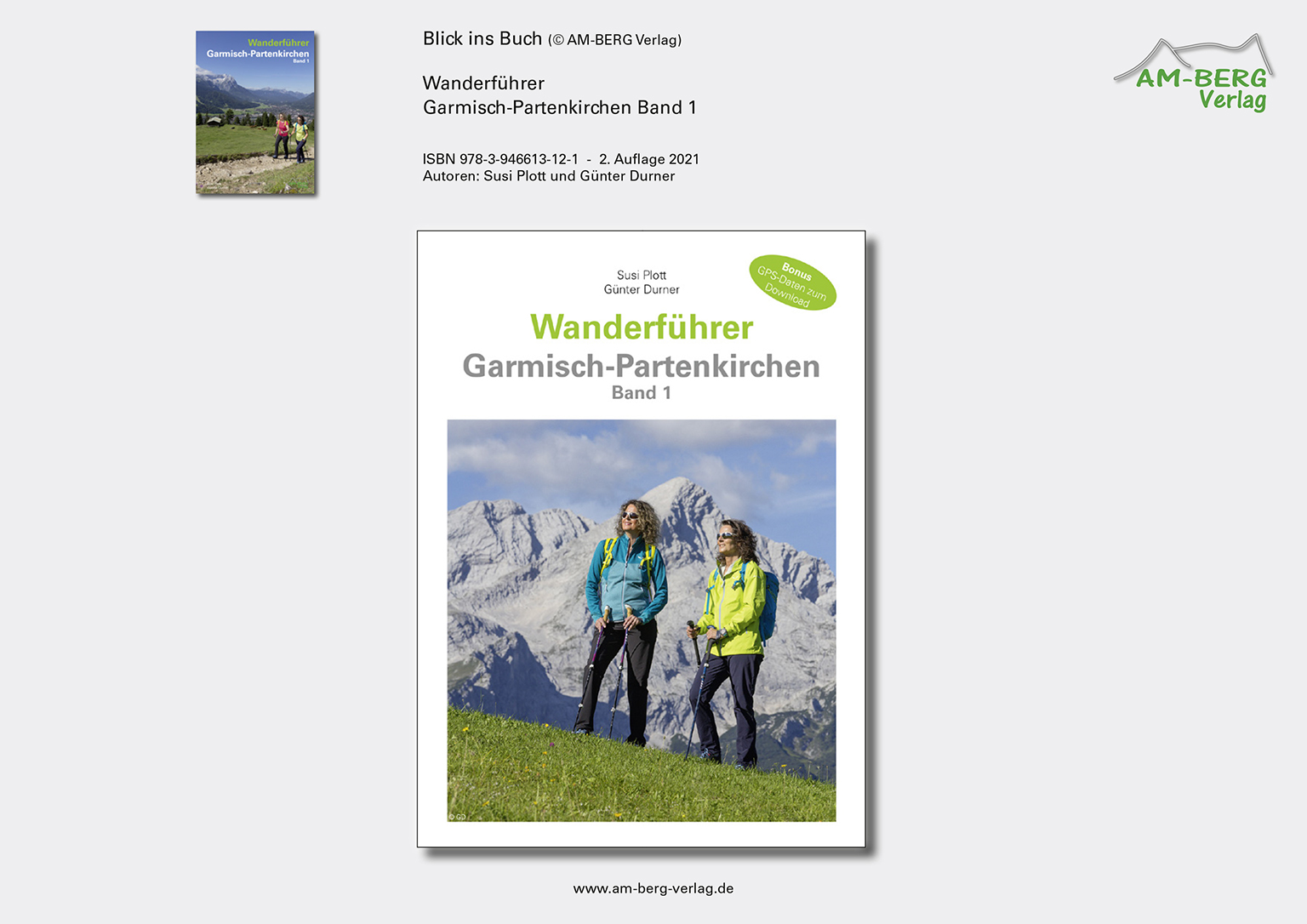 Wanderführer Garmisch-Partenkirchen Band 1_Blick ins Buch01