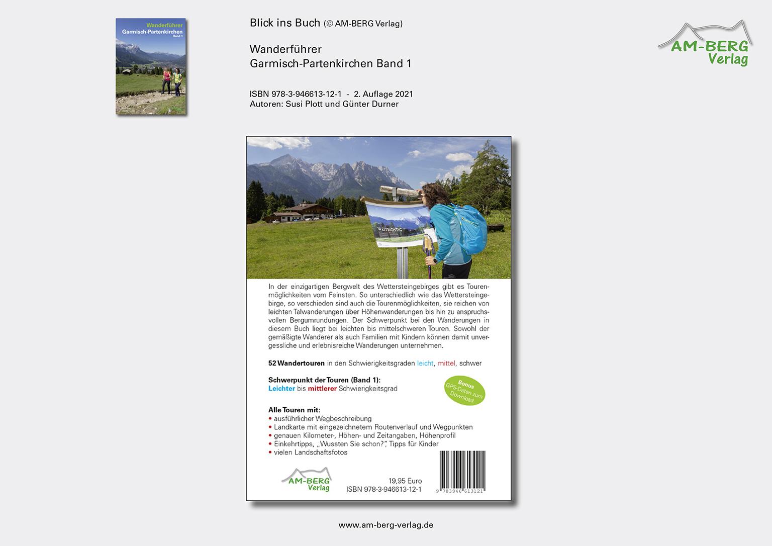 Wanderführer Garmisch-Partenkirchen Band 1_Rückseite Buch