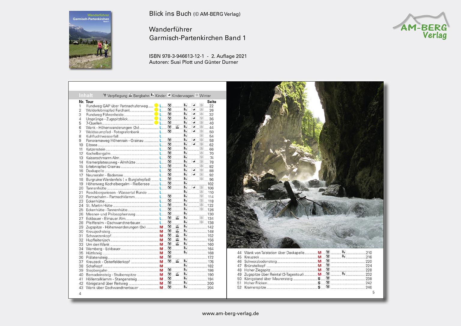 Wanderführer Garmisch-Partenkirchen Band 1_Blick ins Buch03