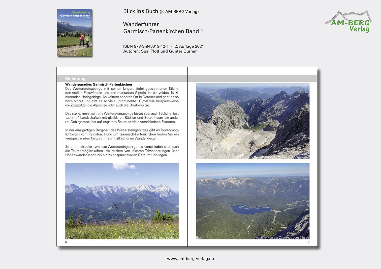 Wanderführer Garmisch-Partenkirchen Band 1_Blick ins Buch04