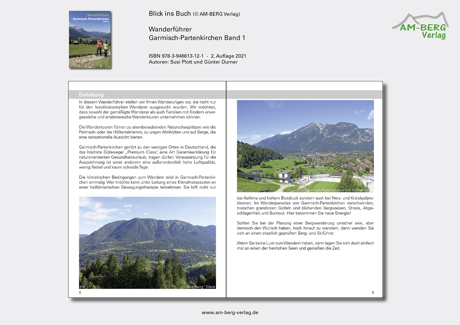 Wanderführer Garmisch-Partenkirchen Band 1_Blick ins Buch05