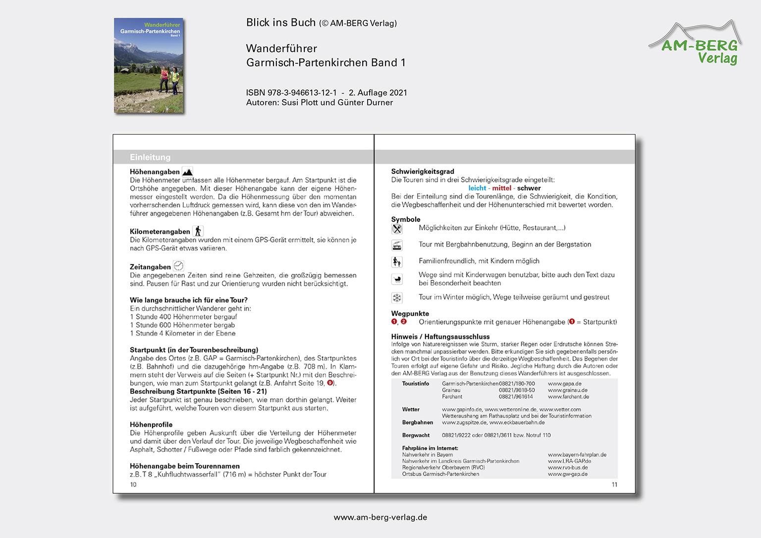 Wanderführer Garmisch-Partenkirchen Band 1_Blick ins Buch06