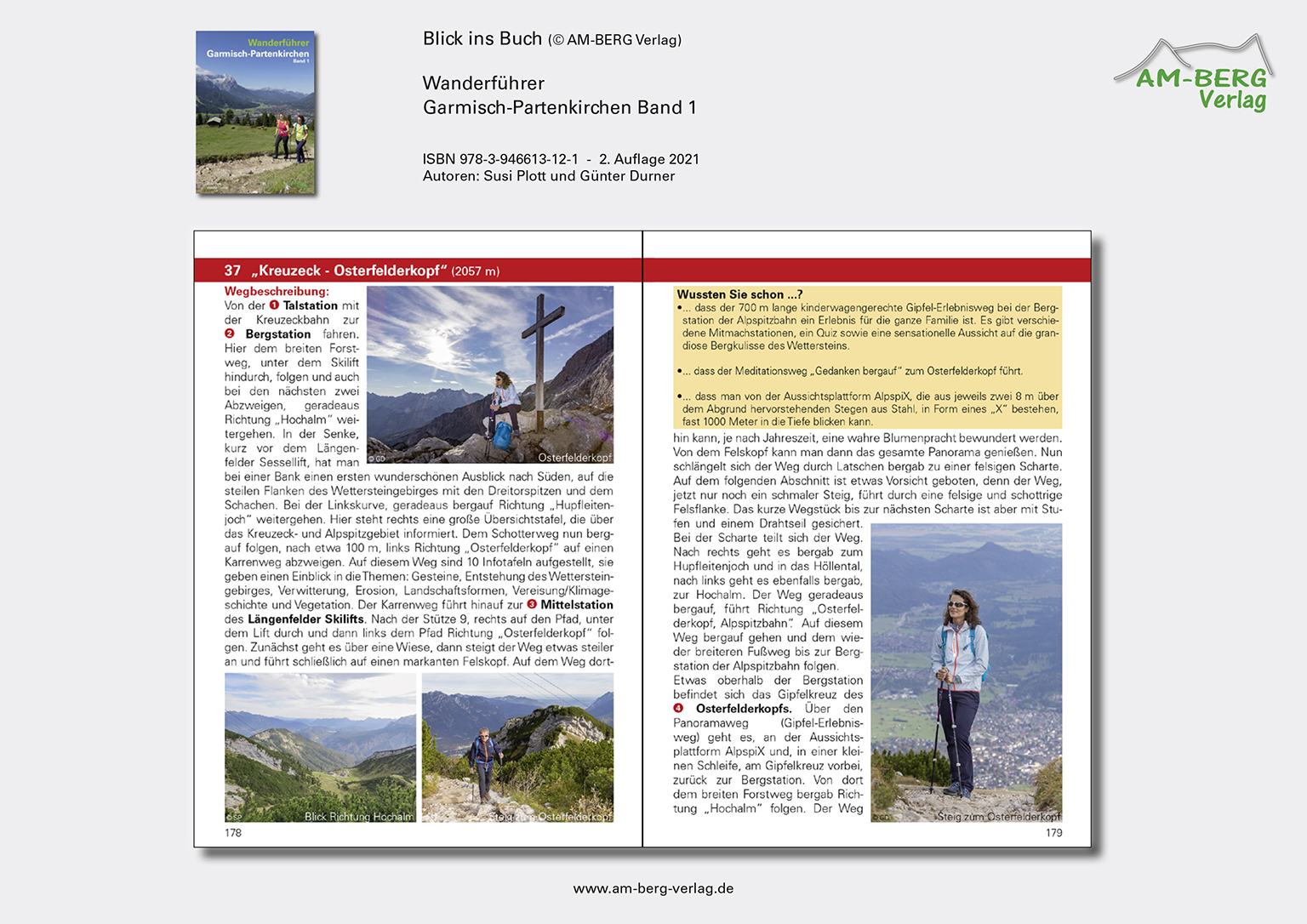 Wanderführer Garmisch-Partenkirchen Band 1_Blick ins Buch08