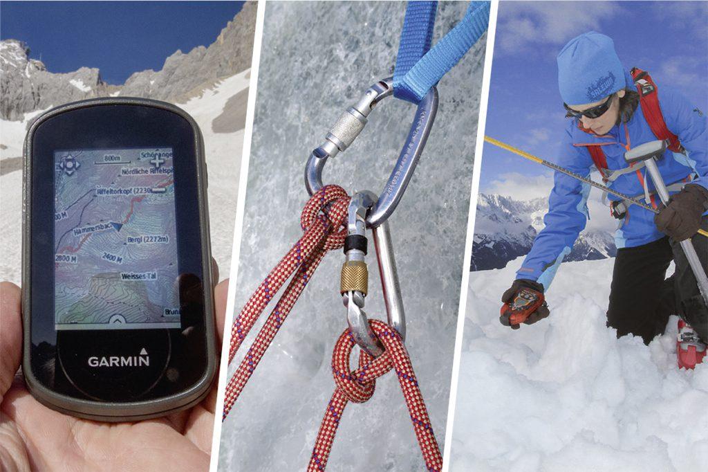 Alpine Lehrbücher_GPS_Klettern_LVS