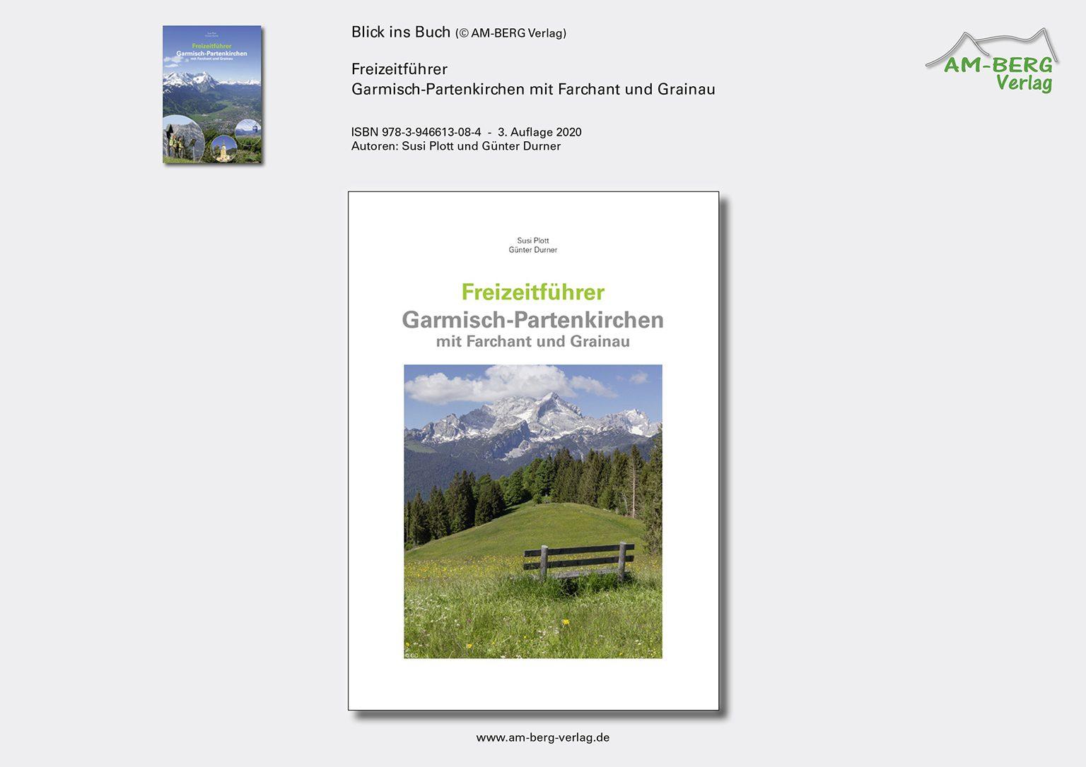 Freizeitführer Garmisch-Partenkirchen mit Farchant und Grainau_BlickinsBuch01