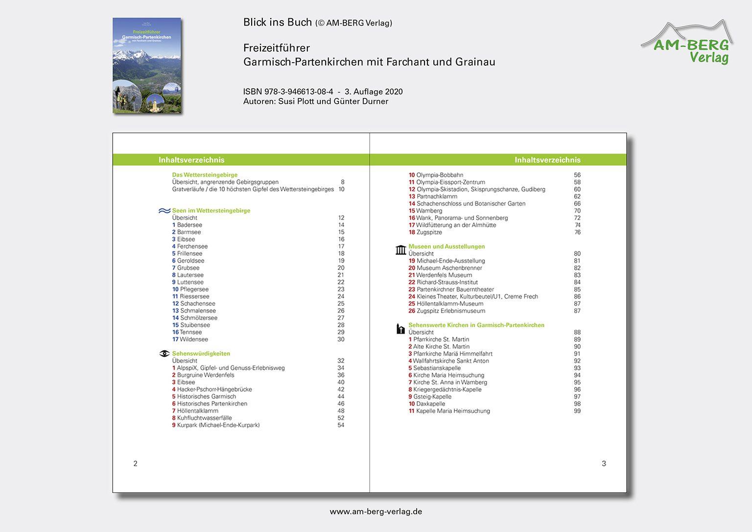 Freizeitführer Garmisch-Partenkirchen mit Farchant und Grainau_BlickinsBuch02