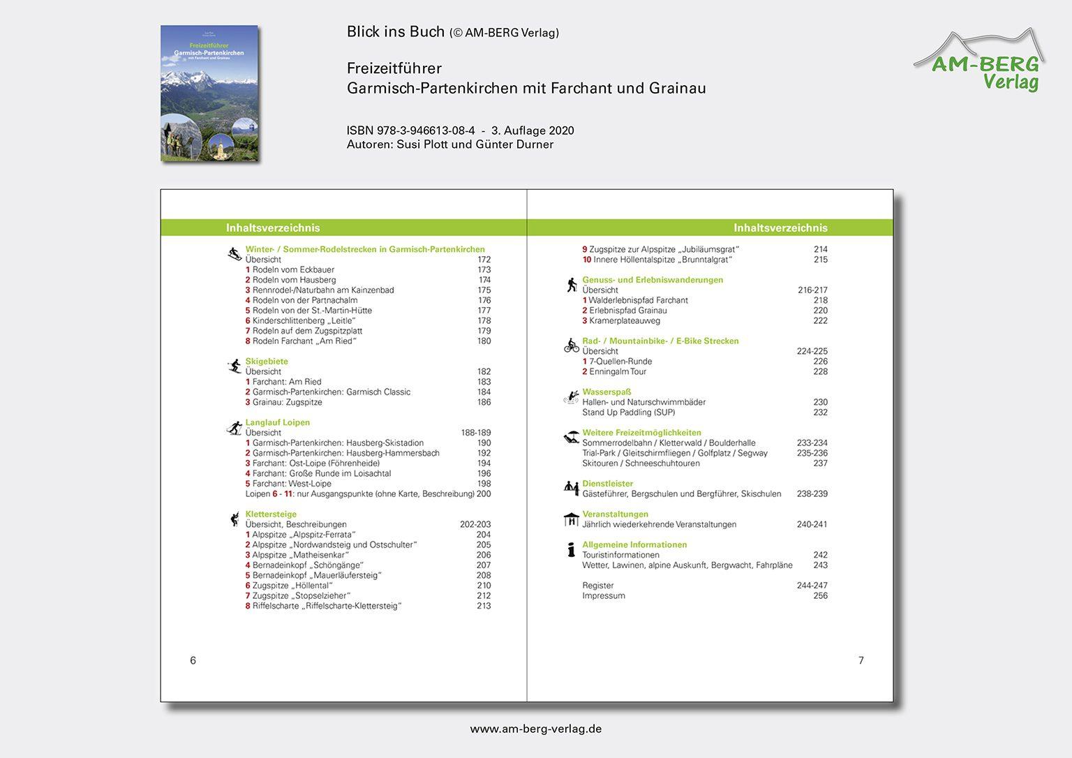 Freizeitführer Garmisch-Partenkirchen mit Farchant und Grainau_BlickinsBuch04