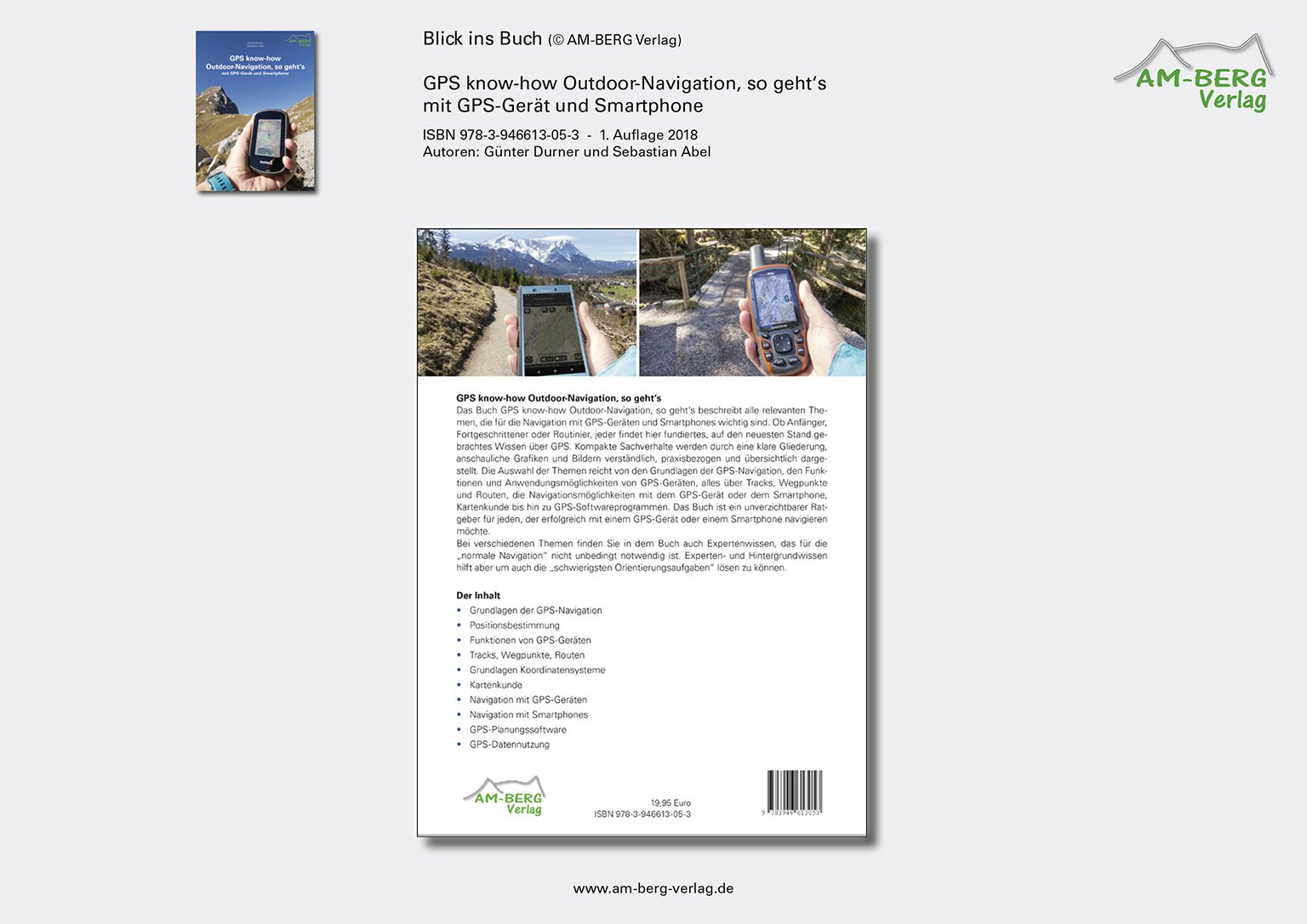 GPS know-how Outdoor-Navigation_Rückseite Buch
