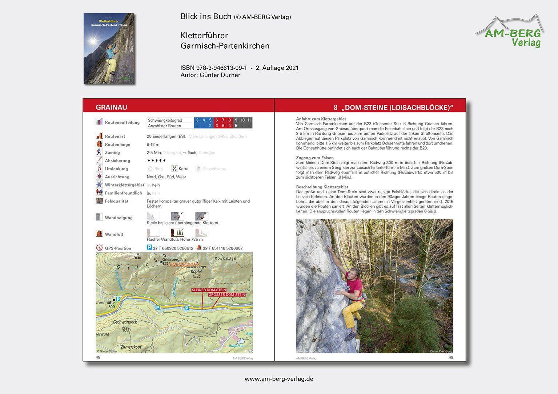 Kletterführer Garmisch-Partenkirchen_BlickinsBuch06_Dom Steine