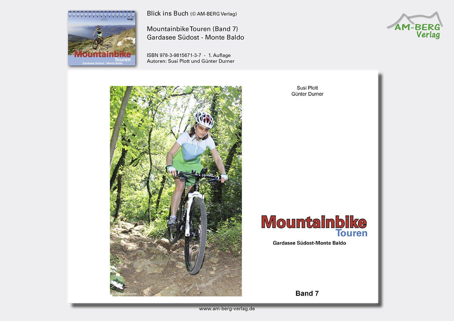 Mountainbike Touren Gardasee Südost - Monte Baldo_BlickinsBuch1