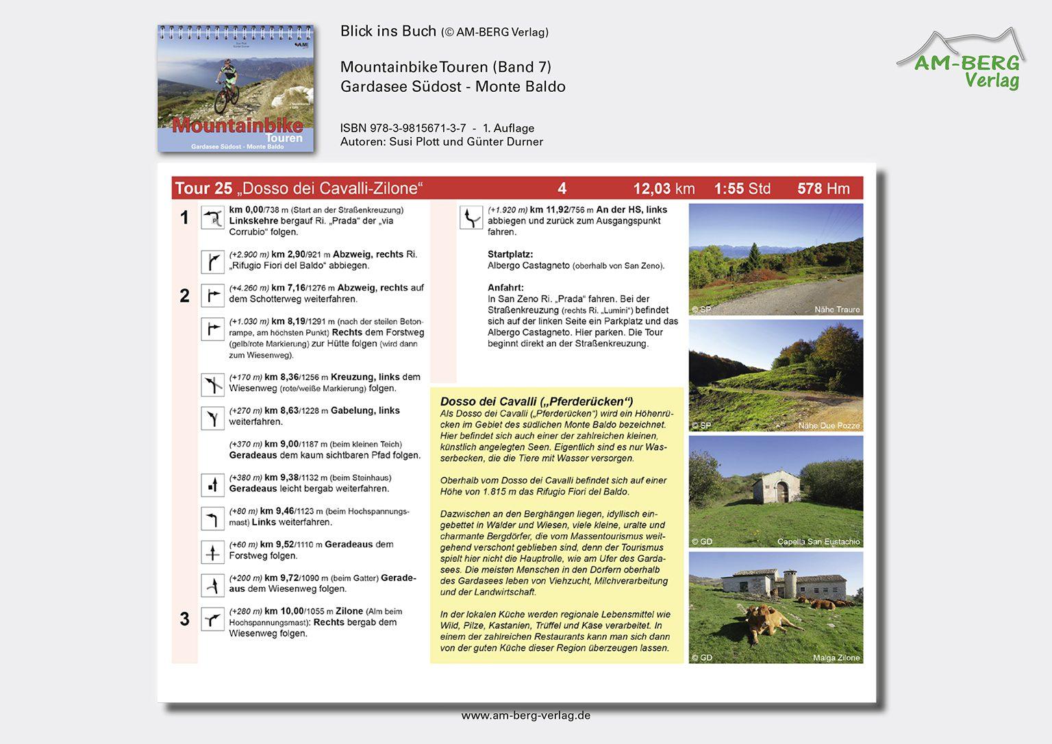 Mountainbike Touren Gardasee Südost - Monte Baldo_BlickinsBuch10