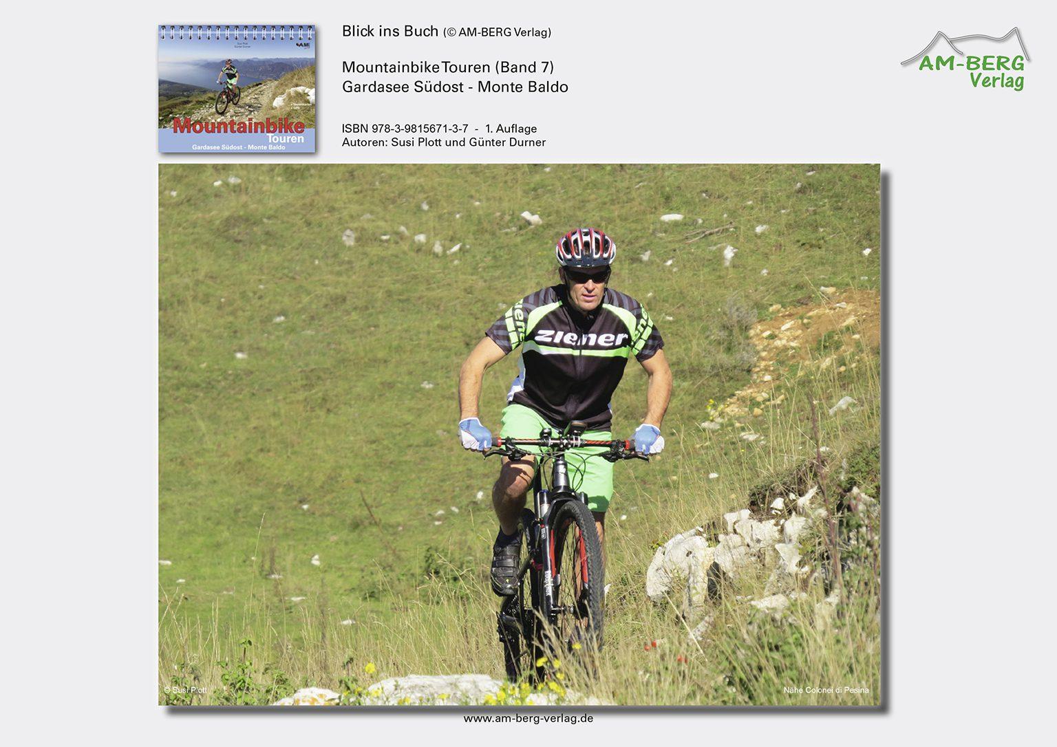 Mountainbike Touren Gardasee Südost - Monte Baldo_BlickinsBuch11