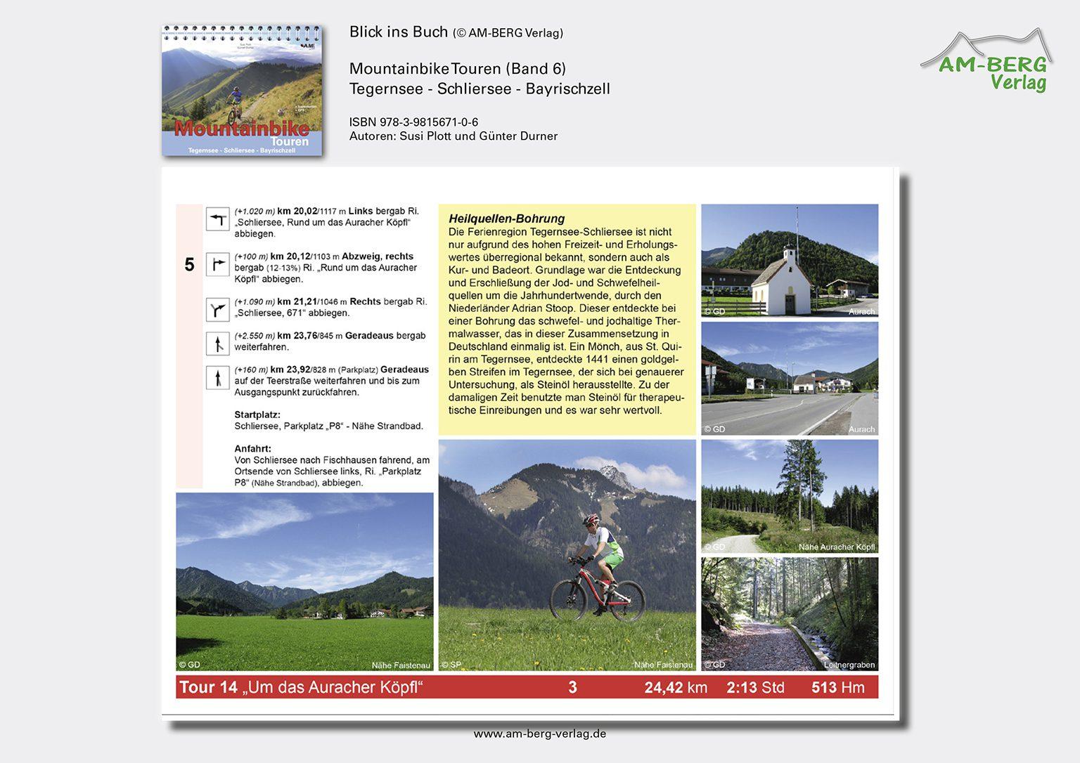 Mountainbike Touren Tegernsee-Schliersee-Bayrischzell (Band 6)_BlickinsBuch10