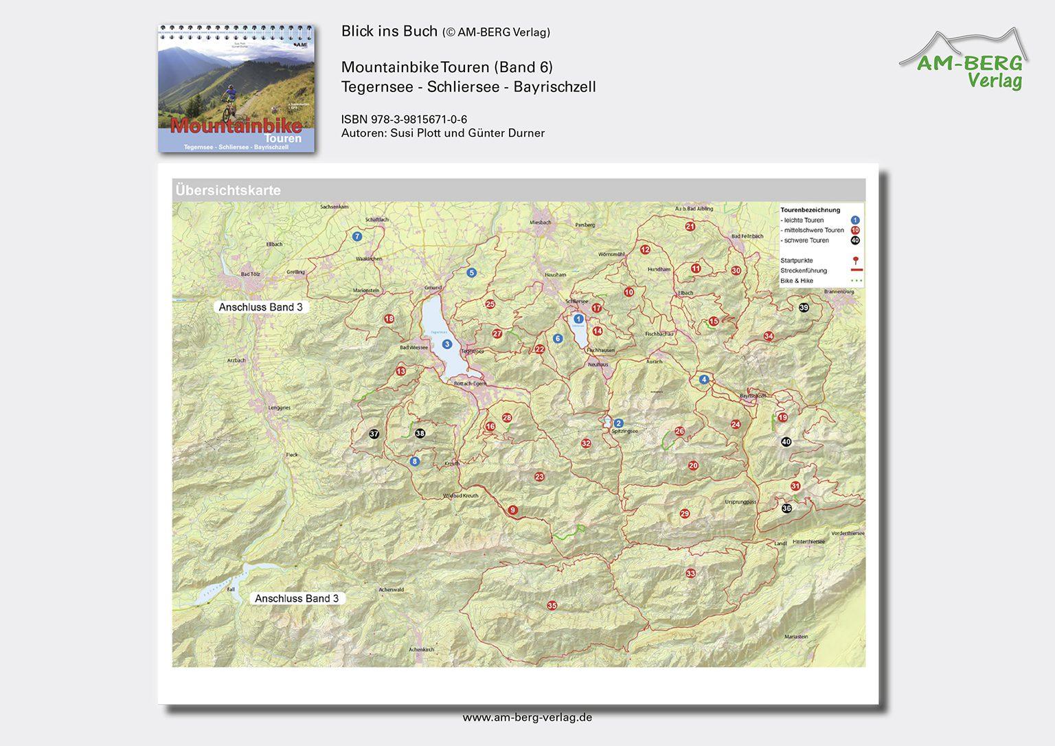Mountainbike Touren Tegernsee-Schliersee-Bayrischzell (Band 6)_BlickinsBuch2