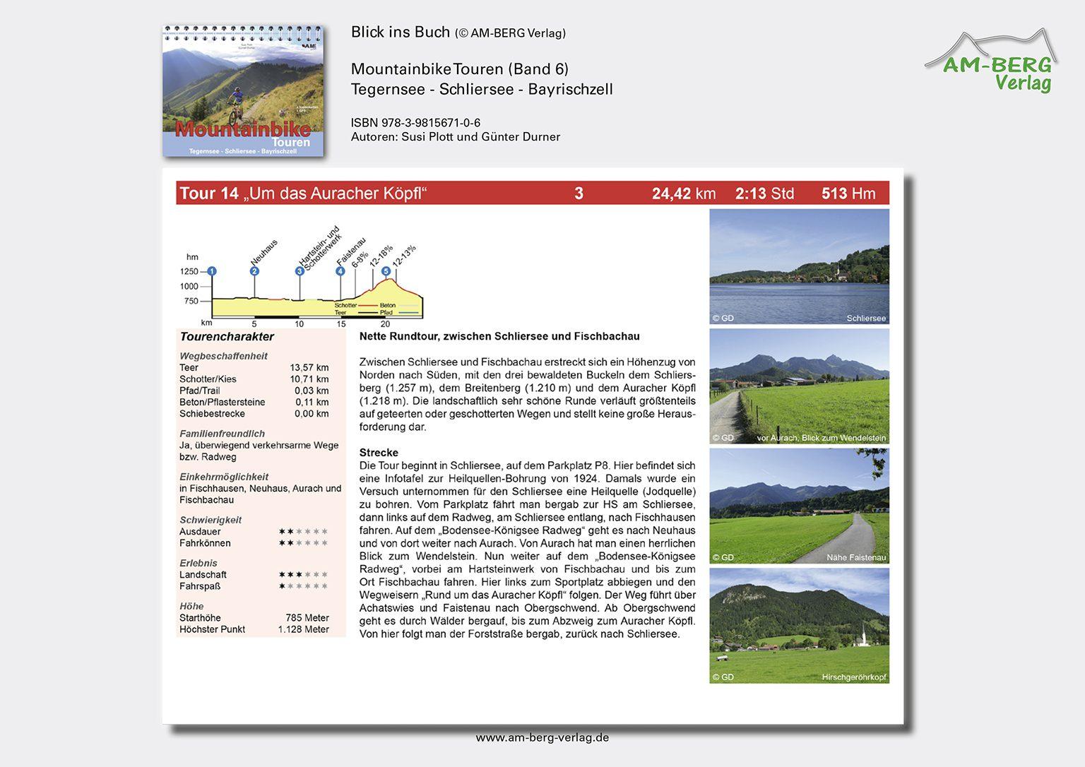 Mountainbike Touren Tegernsee-Schliersee-Bayrischzell (Band 6)_BlickinsBuch7