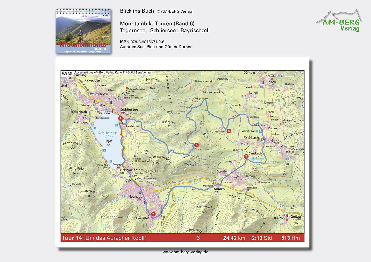 Mountainbike Touren Tegernsee-Schliersee-Bayrischzell (Band 6)_BlickinsBuch8