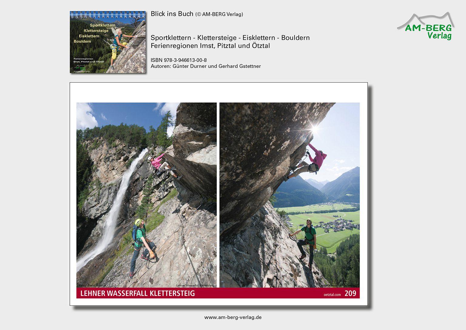 Sportklettern Imst-Pitztal-Ötztal_BlickinsBuch10_Lehner-Wasserfall-Klettersteig
