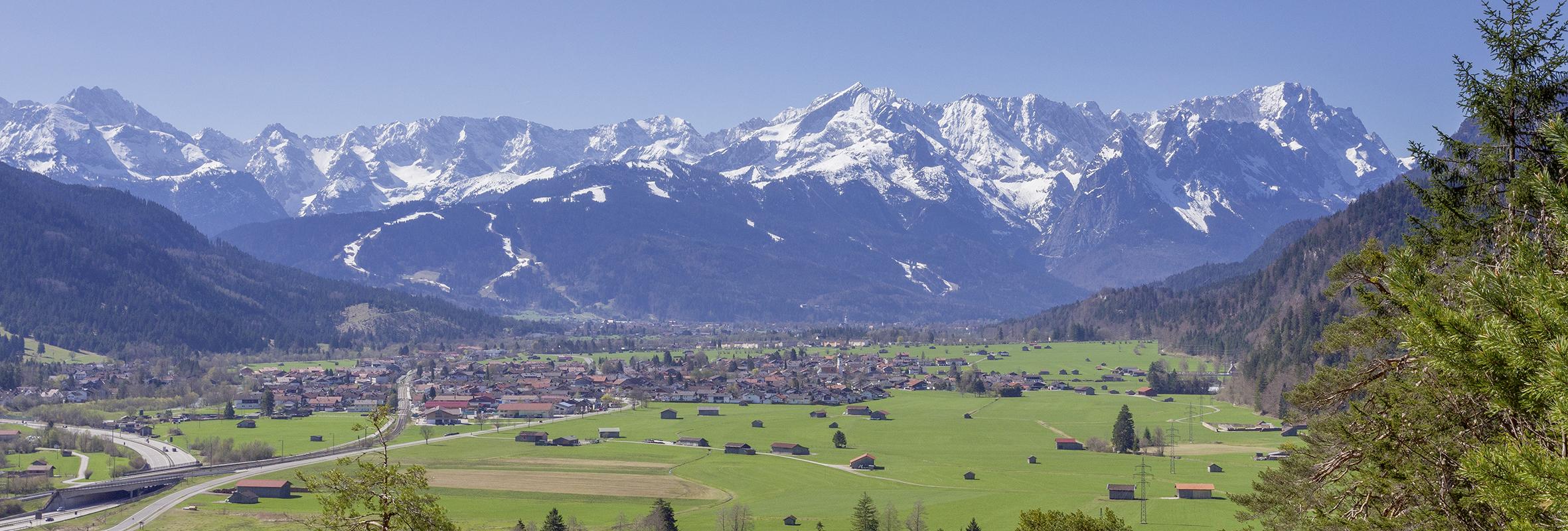Garmisch-Partenkirchen_Blick ins Wetterstein