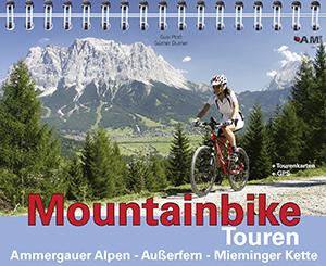 Mountainbike Touren Ammergauer Alpen - Ausserfern - Mieminger Kette (Band 2)