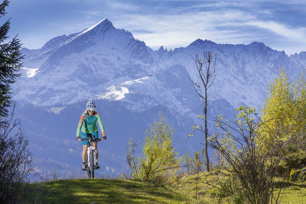 Mountainbiken in Garmisch-Partenkirchen
